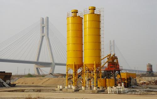 混凝土搅拌站用于润扬大桥重点工程