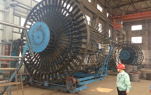 两台 HGZT4000自动滚焊机用于上海污水治理工程