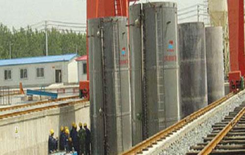 PCCPE成套设备用于辽宁大伙房工程