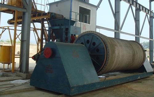 卧式辊射机用于越南老街生产现场