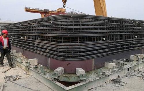 预制顶管钢筋骨架用于苏州生产现场