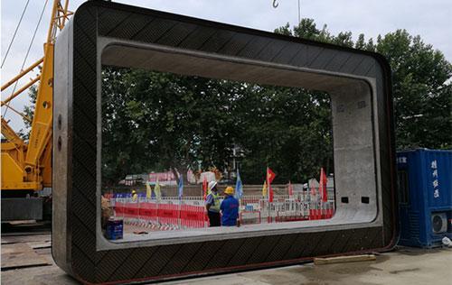 8100Х4950 特制管廊管节用于扬州荷花池工程