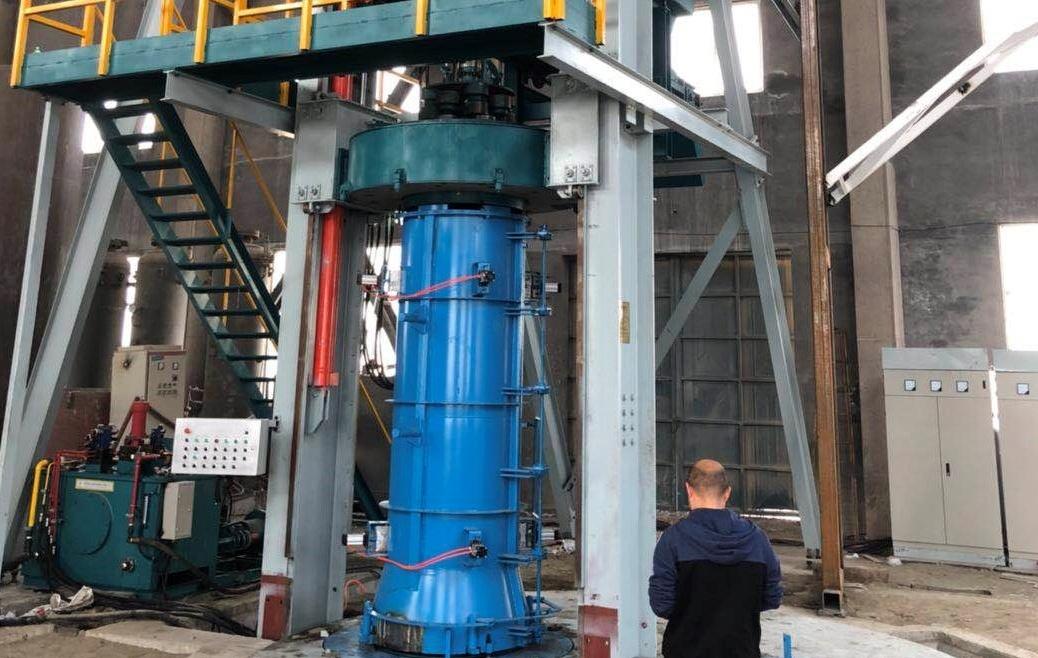 径向挤压制管设备用于青岛三鑫科技