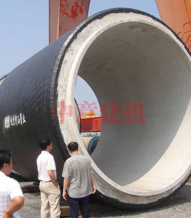 Ф4000 PCCPE预应力钢筒混凝土管