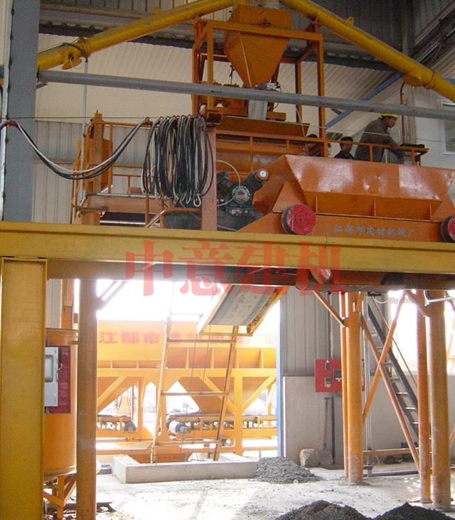 混凝土配料生产线