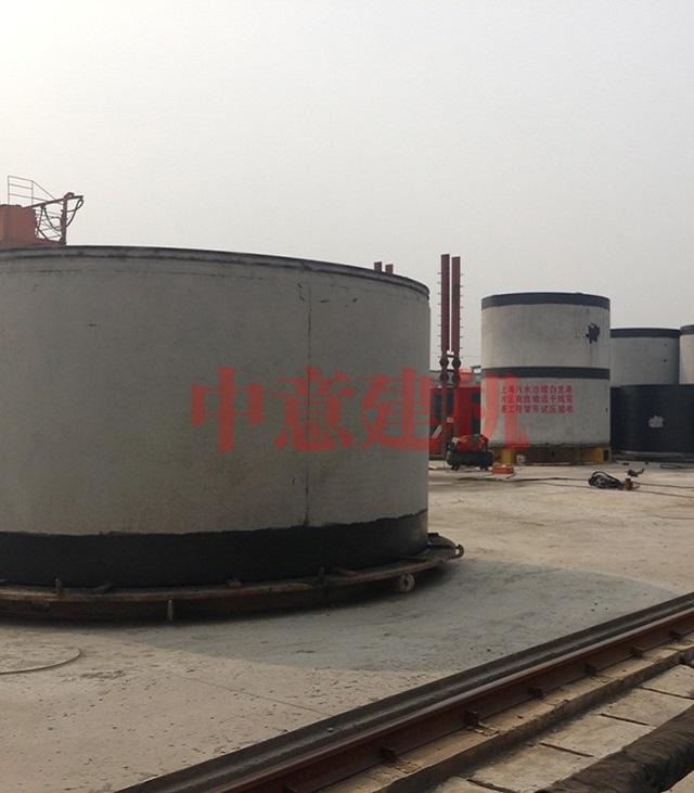 Φ4000大口径钢筋混凝土顶管
