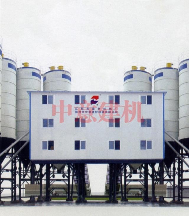 HZS150×2混凝土搅拌站