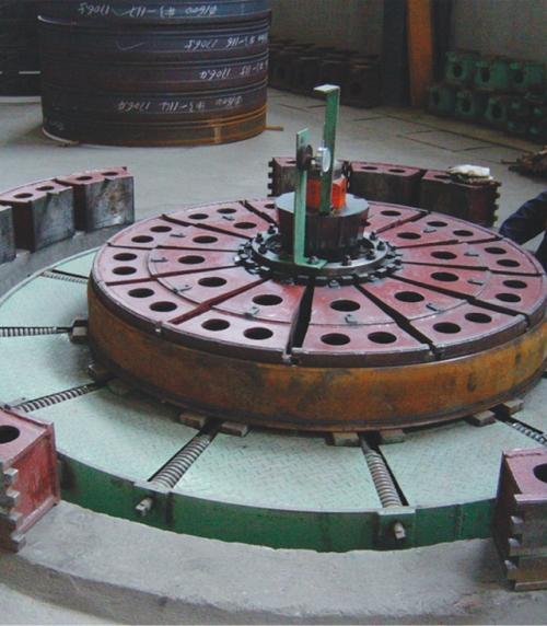 Ф1400-Ф4000PCCPL承插口涨圆机