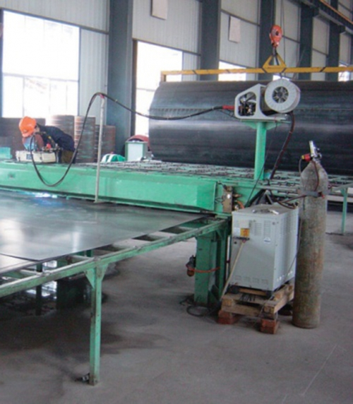 PCCPL平板焊接