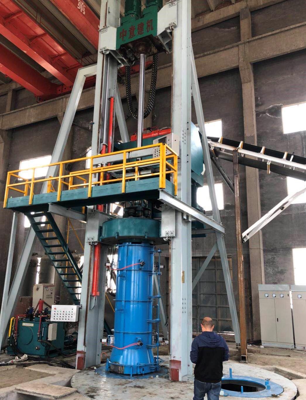 中意建机推出径向挤压制管设备 DN300 1200小口径制管工艺介绍